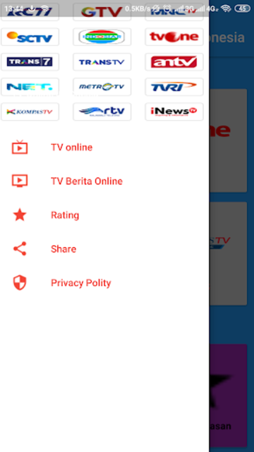 Streaming TV Online Indonesia screenshot 3