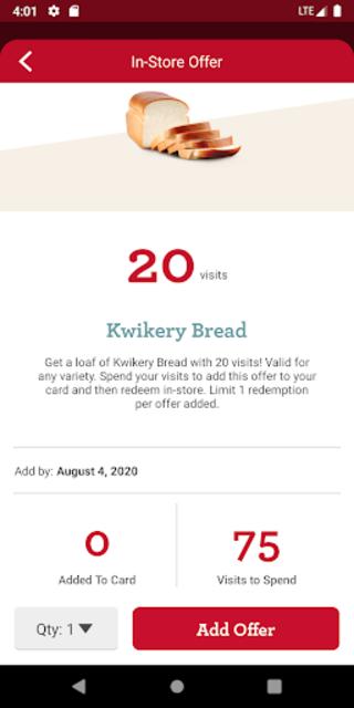 Kwik Rewards screenshot 3
