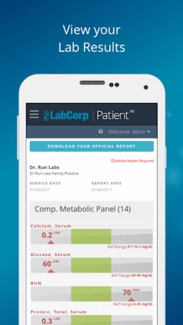 LabCorp | Patient screenshot 1