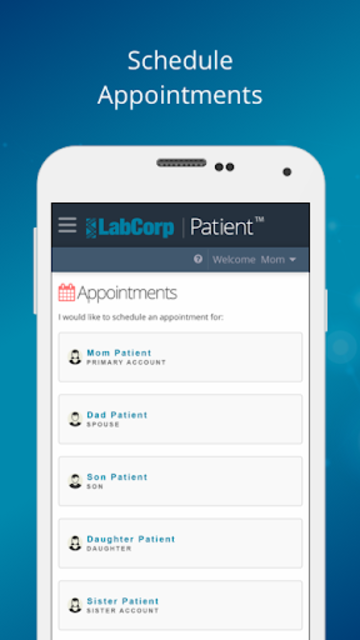 LabCorp | Patient screenshot 2
