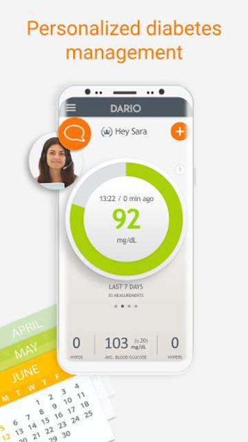 Dario Blood Glucose Tracker & Logbook for Diabetes screenshot 7