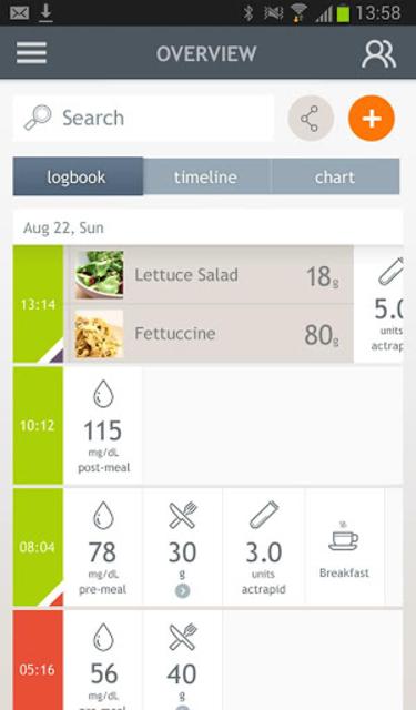 Dario Blood Glucose Tracker & Logbook for Diabetes screenshot 11