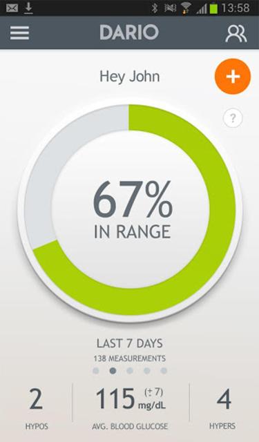 Dario Blood Glucose Tracker & Logbook for Diabetes screenshot 12
