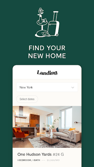 Landing Homes screenshot 1