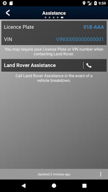 Land Rover InControl Remote screenshot 1