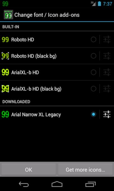 BN Pro ArialXL Legacy Text screenshot 2