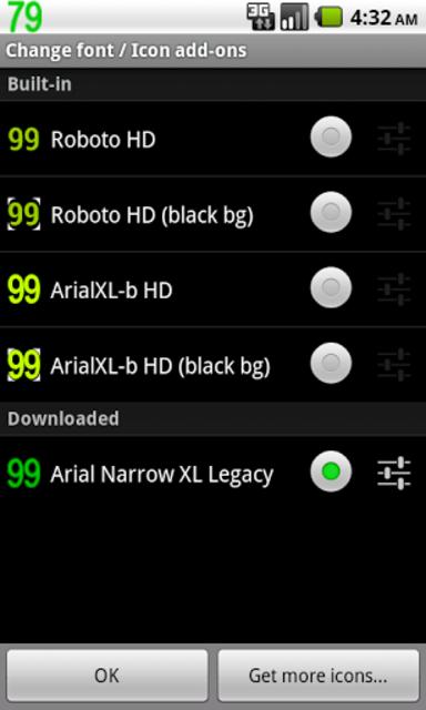BN Pro ArialXL Legacy Text screenshot 4