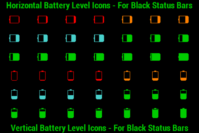 BN Pro Battery Level Icons screenshot 1