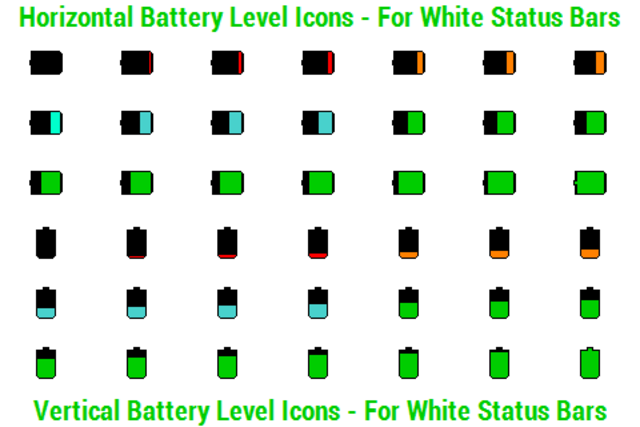 BN Pro Battery Level Icons screenshot 2