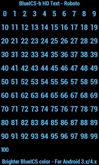 BN Pro BlueICS-b HD Text screenshot 3