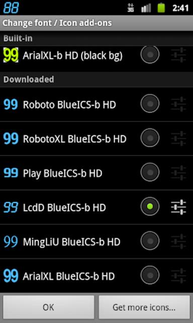 BN Pro BlueICS-b HD Text screenshot 2