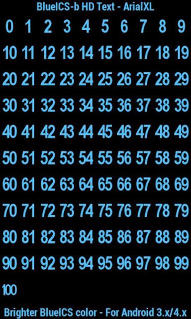 BN Pro BlueICS-b HD Text screenshot 8