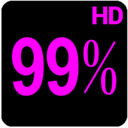 Icon for BN Pro Percent-b Neon HD Text