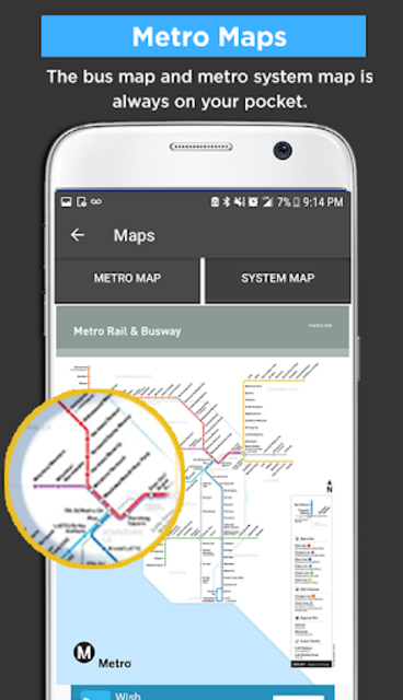 Los Angeles Metro Bus and Train Tracker screenshot 4