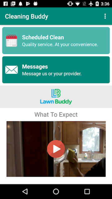 Cleaning Buddy - On Demand Home Cleaning Service screenshot 1