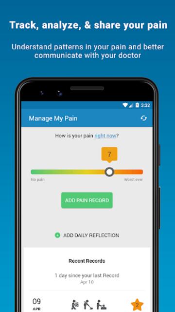 Manage My Pain Pro screenshot 1