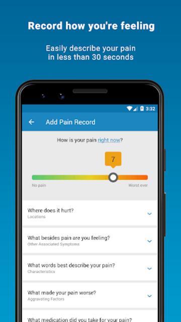 Manage My Pain Pro screenshot 2