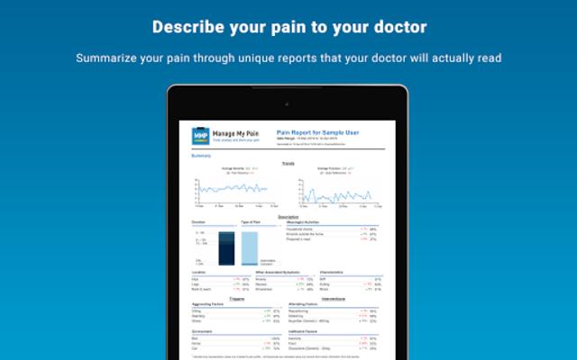 Manage My Pain Pro screenshot 12
