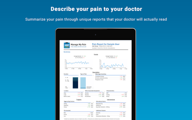 Manage My Pain Pro screenshot 18