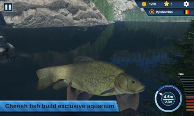 Fishing Simulator 3D - Bass Fishing Game screenshot 2