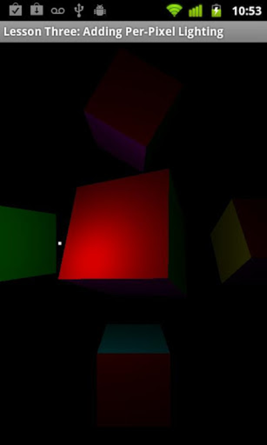 OpenGL ES Examples screenshot 2