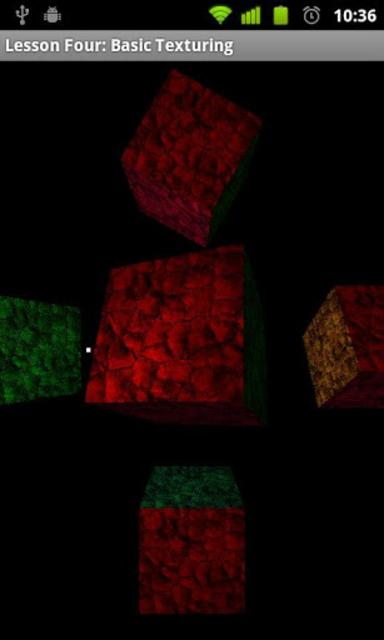 OpenGL ES Examples screenshot 3