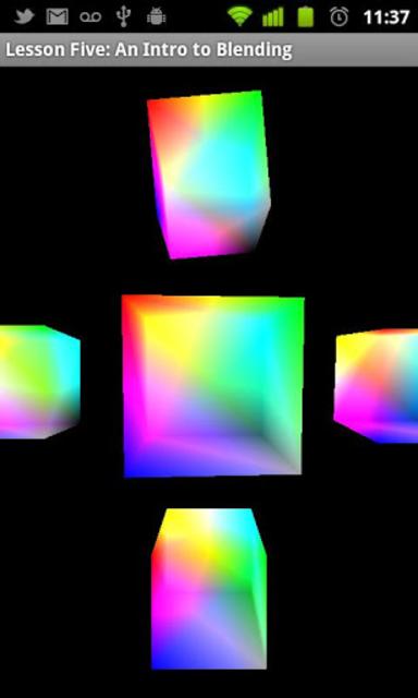 OpenGL ES Examples screenshot 4