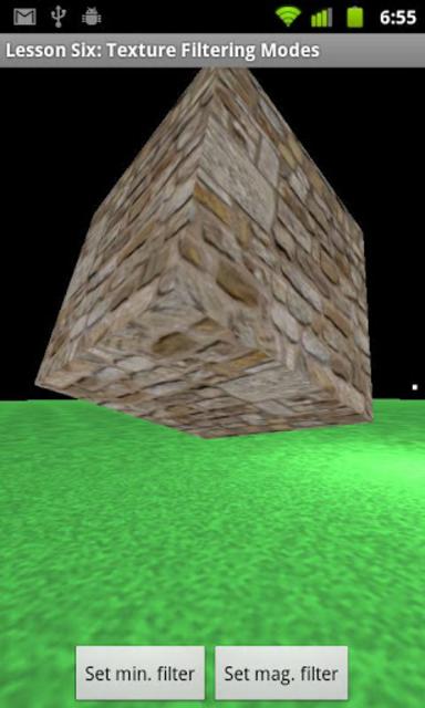 OpenGL ES Examples screenshot 5