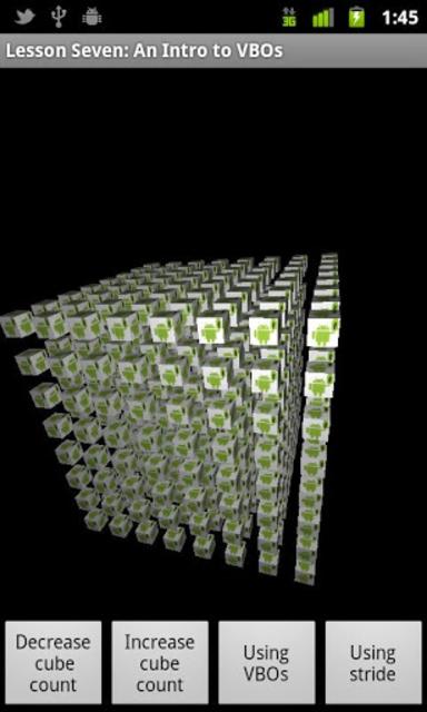 OpenGL ES Examples screenshot 6