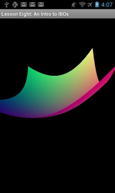 OpenGL ES Examples screenshot 7