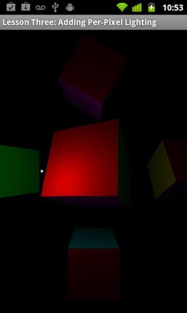 OpenGL ES Examples screenshot 1