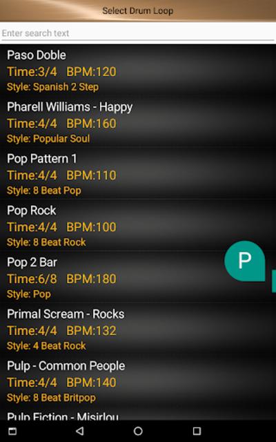 Drum Loops & Metronome Pro screenshot 9
