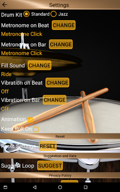 Drum Loops & Metronome Pro screenshot 17