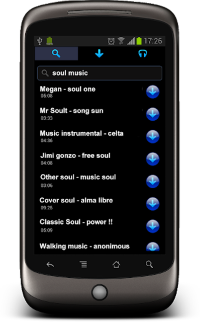 Free music download - StraussMP3+ screenshot 1