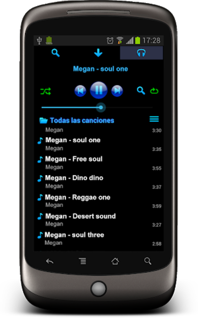 Free music download - StraussMP3+ screenshot 3