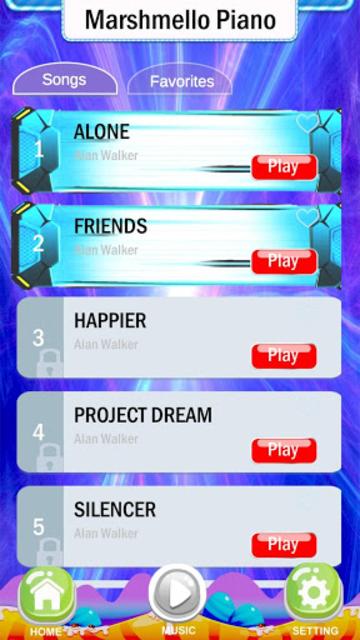 Magic Marshmello Piano Game screenshot 3