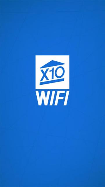 X10 WiFi screenshot 1