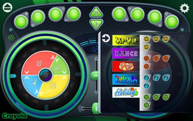 Crayola DJ screenshot 4