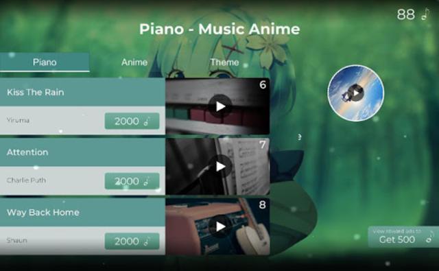 Piano Tile - The Music Anime screenshot 9