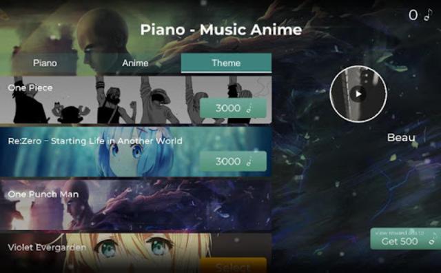 Piano Tile - The Music Anime screenshot 12
