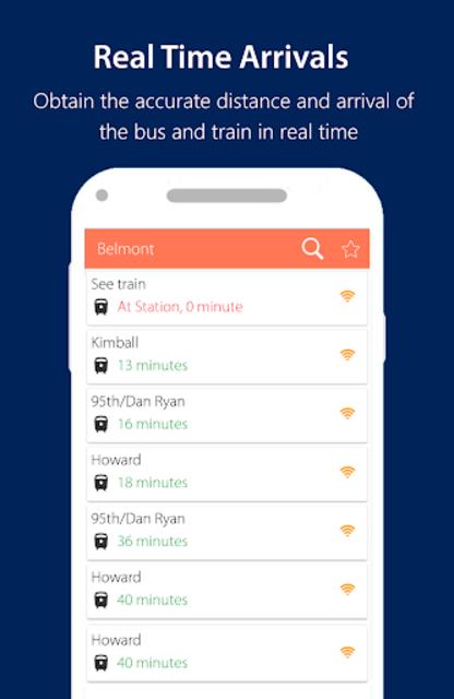 Chicago CTA Transit (2019): CTA Bus and Train Time screenshot 2