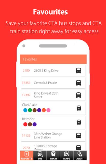 Chicago CTA Transit (2019): CTA Bus and Train Time screenshot 3