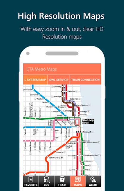 Chicago CTA Transit (2019): CTA Bus and Train Time screenshot 4
