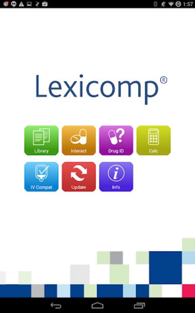 Lexicomp screenshot 16