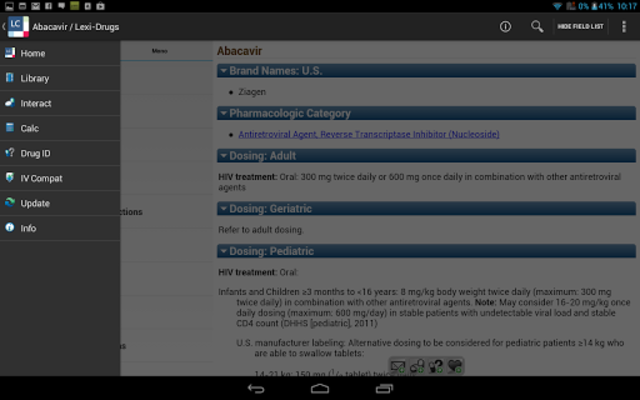 Lexicomp screenshot 14