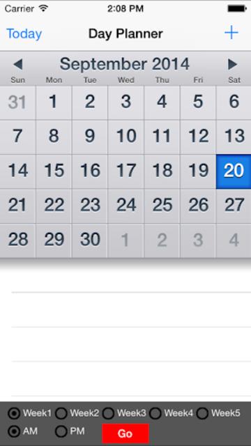 LFV Day-Planner Pro screenshot 7