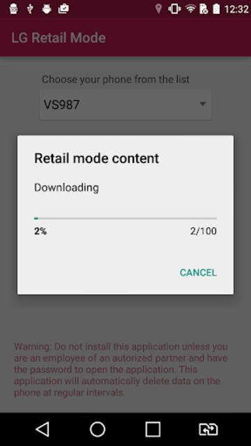 LG Retail Mode screenshot 2