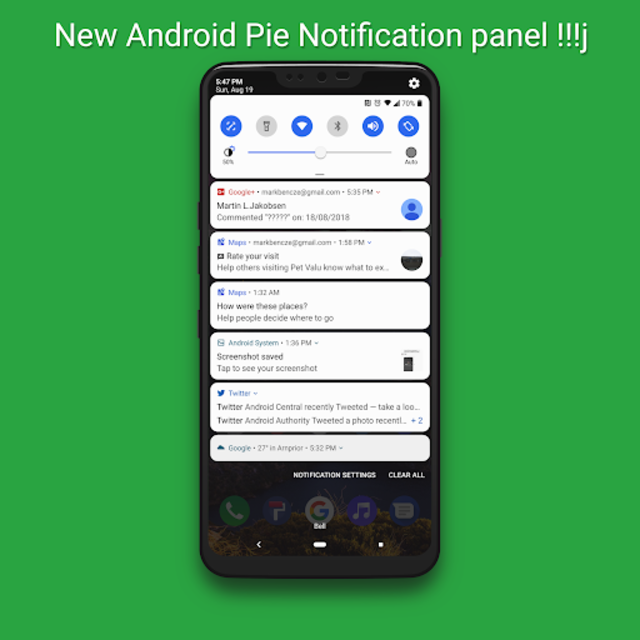 Pixel Experience Theme for LG G7