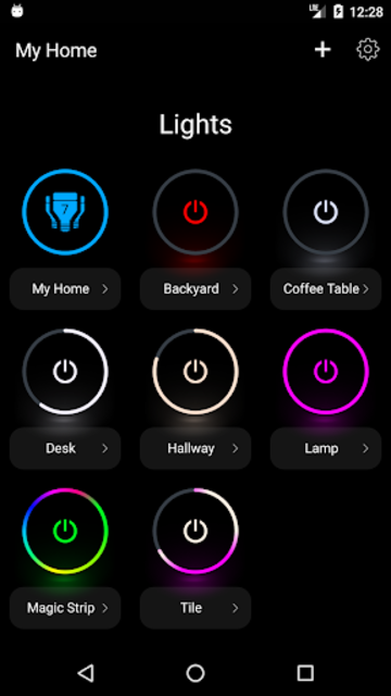 LIFX screenshot 1