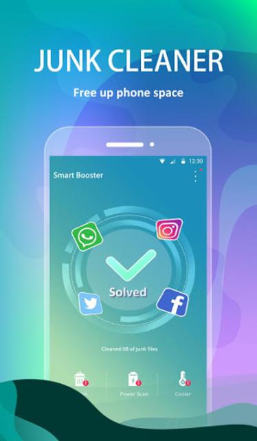 Smart Booster- Memory Booster & Phone Cleaner screenshot 2